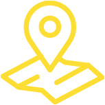 Logo of a map with a pinpoint