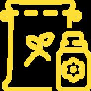 Logo of a bag of lawn fertilizer